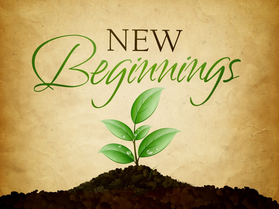 New beginnings…