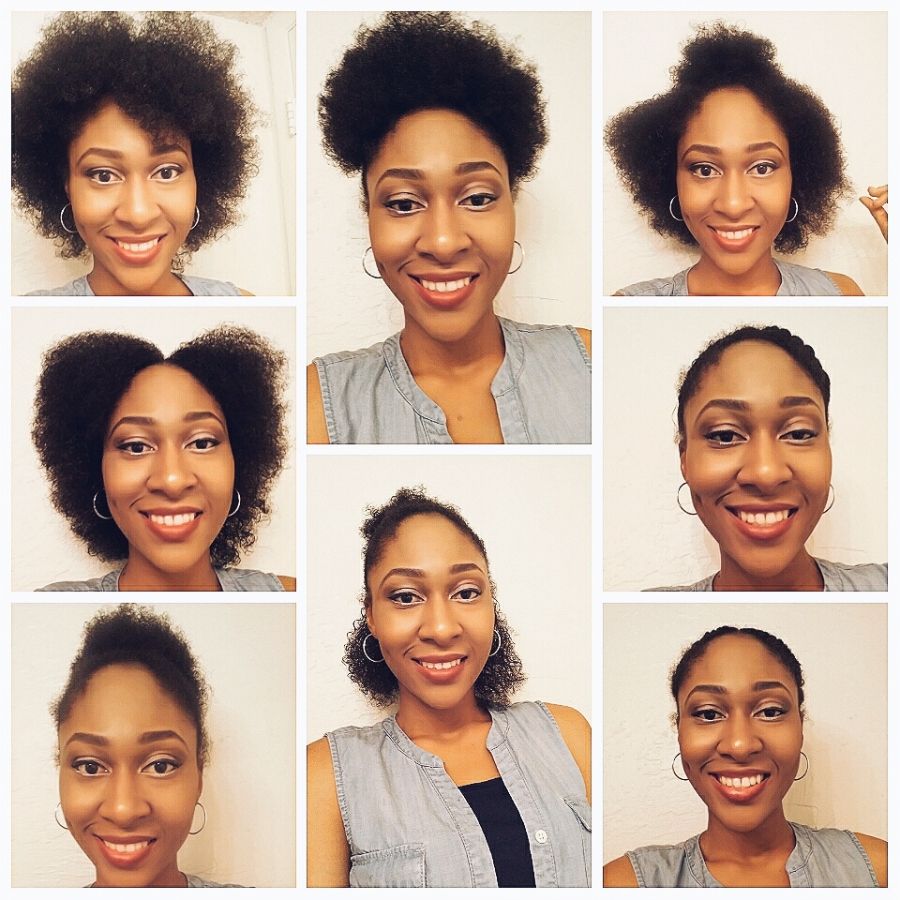 8 EASY WAYS TO STYLE NATURAL HAIR.